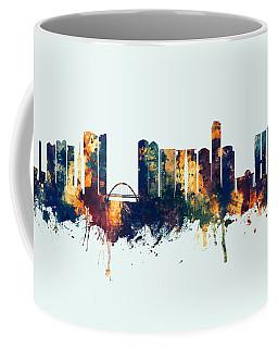Tel Aviv Israel Skyline Coffee Mug