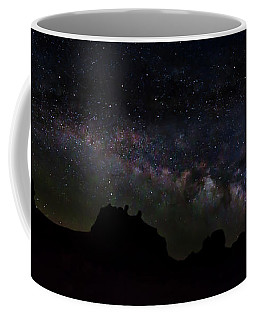 Trona Pinnacles Milky Way Coffee Mug