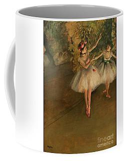 Two Dancers On A Stage Coffee Mug