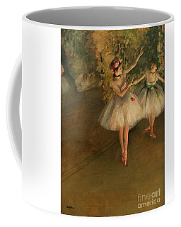 Two Dancers On A Stage Coffee Mug