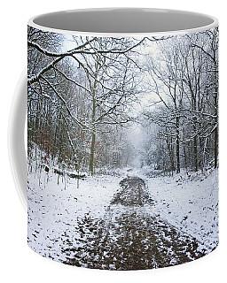 30/01/19  Rivington. Lower Barn. Arboretum Path. Coffee Mug