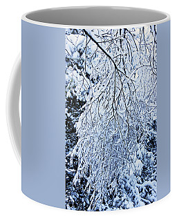 30/01/19  Rivington. Snow Covered Branches. Coffee Mug