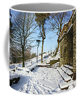 30/01/19  Rivington. Summerhouse In The Snow. Coffee Mug