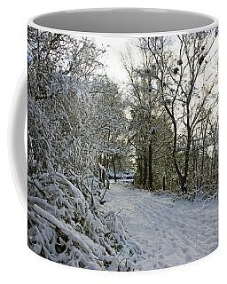 30/01/19  Rivington. Top Path Below The Pigeon Tower. Coffee Mug
