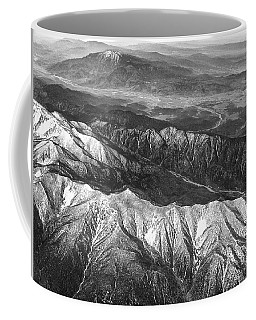 35,000 Feet Over Utah Coffee Mug