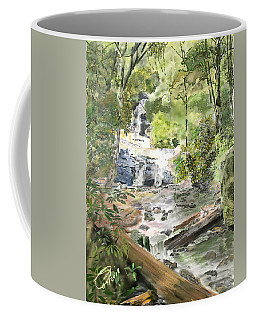 Set Rock Creek Falls Coffee Mug