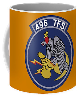 496th Tactical Fighter Squadron  Coffee Mug
