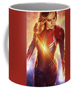 Captain Marvel Coffee Mugs