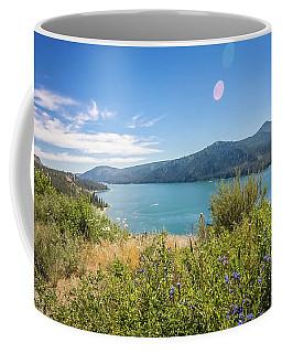 Coffee Mug featuring the photograph Nature Scenics Around Spokane River Washington by Alex Grichenko