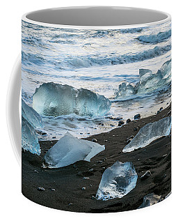 The Diamond Beach, Jokulsarlon, Iceland Coffee Mug