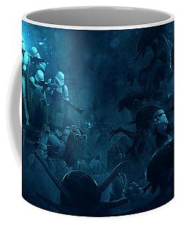 501 Vs Aliens 1 Coffee Mug