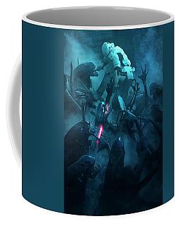 501 Vs Aliens 2 Coffee Mug