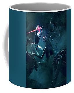 501 Vs Aliens 3 Coffee Mug