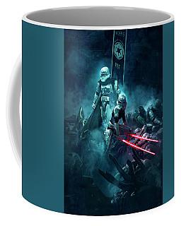 501 Vs Aliens 4 Coffee Mug