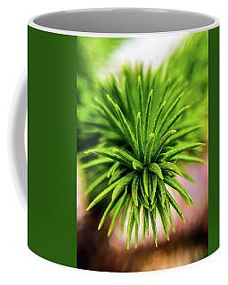 Green Spines Coffee Mug