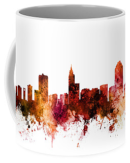 Raleigh North Carolina Skyline Coffee Mug