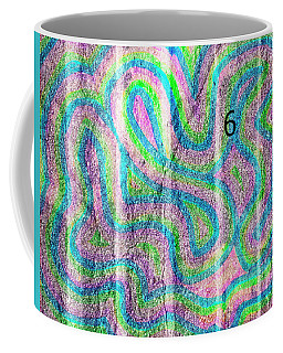 Coffee Mug featuring the photograph #6 Sidewalk by Mark Jordan