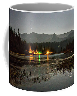 Coffee Mug featuring the photograph Sierra National Park Mountains Near Mammoth Lakes Californit by Alex Grichenko