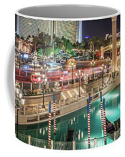 View Of The Venetian Hotel Resort And Casino Coffee Mug