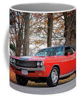 70 Dodge Challenger Rt - Driver Side Coffee Mug