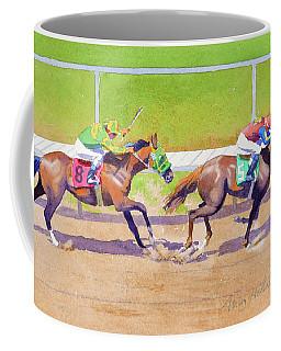 8 Chasing 5 At Del Mar Coffee Mug