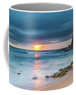 Sunrise Seascape And Cloudy Sky Coffee Mug