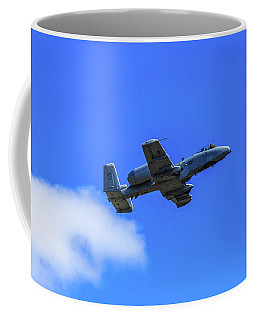 A-10c Thunderbolt II In Flight Coffee Mug