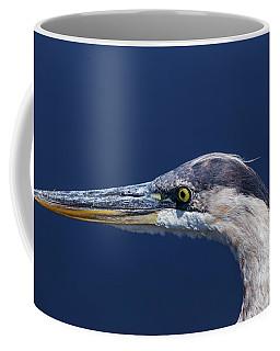 A Blue Portrait Coffee Mug