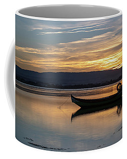 Coffee Mug featuring the photograph A Boat by Bruno Rosa