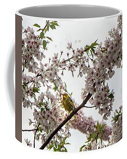 A Canary In A Cherry Tree  Coffee Mug