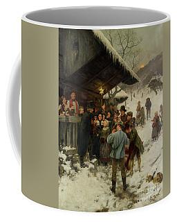 A Christmas Carol In Lucerne, 1887 Coffee Mug