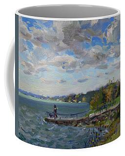 A Cloudy Day At Gratwick Park Coffee Mug