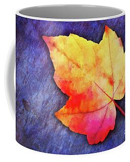 A Colorful Fall Memory Coffee Mug