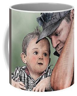 A Conversation With Daddy  Coffee Mug