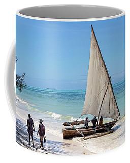 A Dhow In Zanzibar Coffee Mug