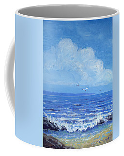 A Distant Shore Coffee Mug