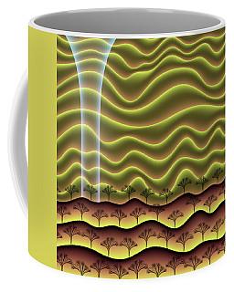 A Faint Glow On The Horizon Coffee Mug
