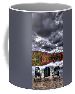 Coffee Mug featuring the photograph A Fall Day On West Lake by David Patterson