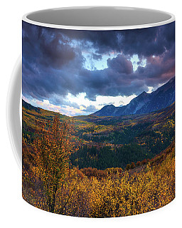 A Fall Sunset In Colorado Coffee Mug