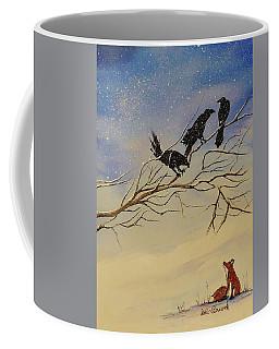 A Fox And His Cronies Coffee Mug