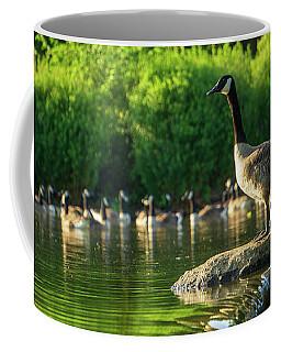 A Gaggle Of Geese Coffee Mug