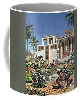 A Garden In Egypt, Circa 1500 Bc Coffee Mug
