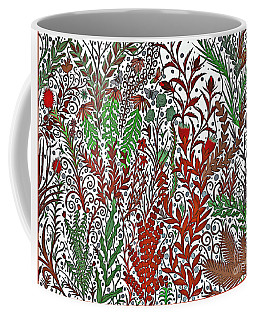 A Garden In The Midst Of A Changing Season Coffee Mug