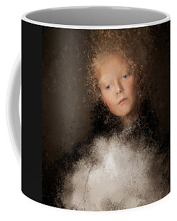 A Girl With The Hand Fan Coffee Mug