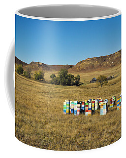 Coffee Mug featuring the photograph A Great Place To Bee by Carl Young