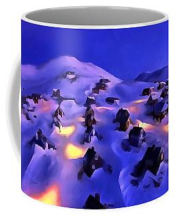 A Greenland Village View Coffee Mug