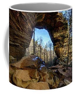 A Hole In Time Coffee Mug