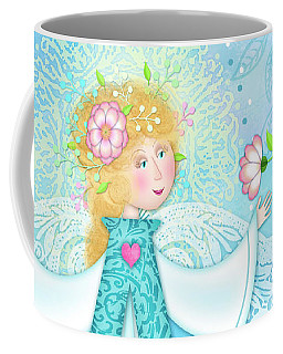 A Is For Angel Coffee Mug