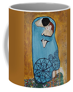 A Kiss From The Heart Coffee Mug