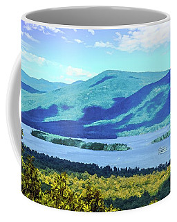 A Lake George View. Coffee Mug
